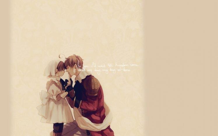 Axis Powers Hetalia, Simple background, Anime boys HD Wallpaper Desktop Background