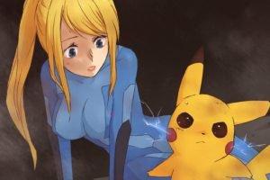 Pikachu, Samus Aran, Anime