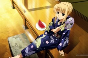 Saber, Anime, Anime girls, Fate Series