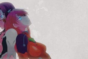 Neon Genesis Evangelion, Asuka Langley Soryu, Makinami Mari Illustrious