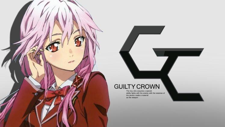 Guilty Crown, Yuzuriha Inori, Anime girls HD Wallpaper Desktop Background