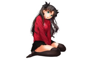 Tohsaka Rin, Fate Series, Fate Stay Night, Anime girls, Anime