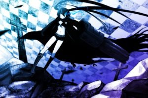 Black Rock Shooter, Anime girls