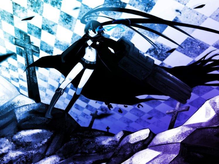 Black Rock Shooter, Anime girls HD Wallpaper Desktop Background