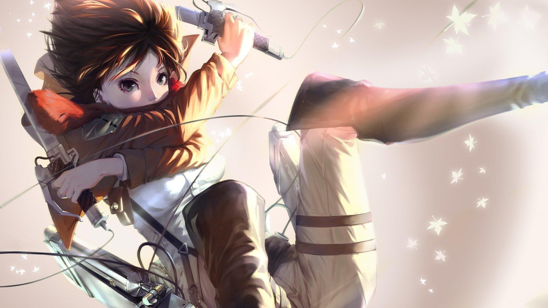 Anime Wallpaper Hd Mikasa Ackerman Wallpaper