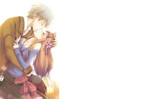 Spice and Wolf, Holo, Kissing, Lawrence Kraft