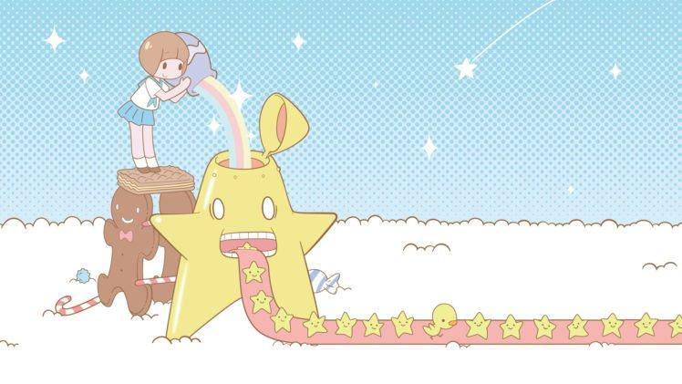 Kill la Kill, Anime girls, Mankanshoku Mako HD Wallpaper Desktop Background