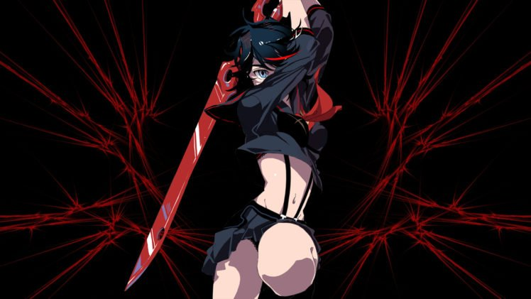 Matoi Ryuuko, Kill la Kill HD Wallpaper Desktop Background