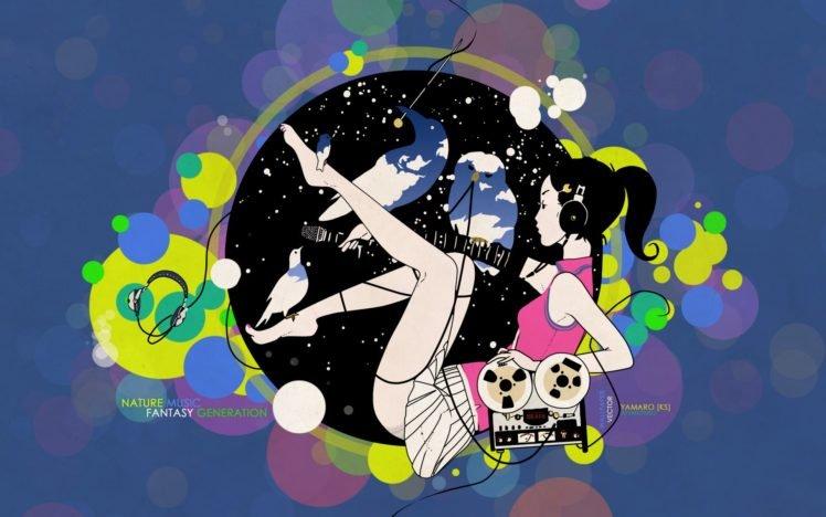anime, Colorful HD Wallpaper Desktop Background