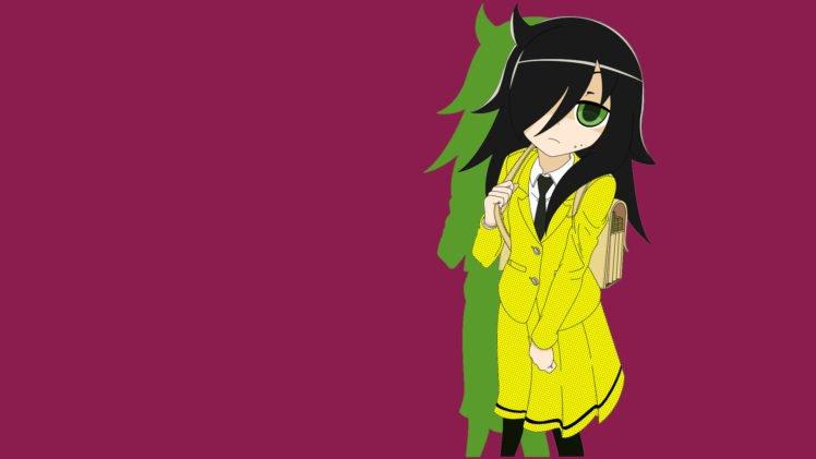 anime, Colorful, Watashi ga Motenai no wa Dou Kangaetemo Omaera ga Warui!, Kuroki Tomoko HD Wallpaper Desktop Background