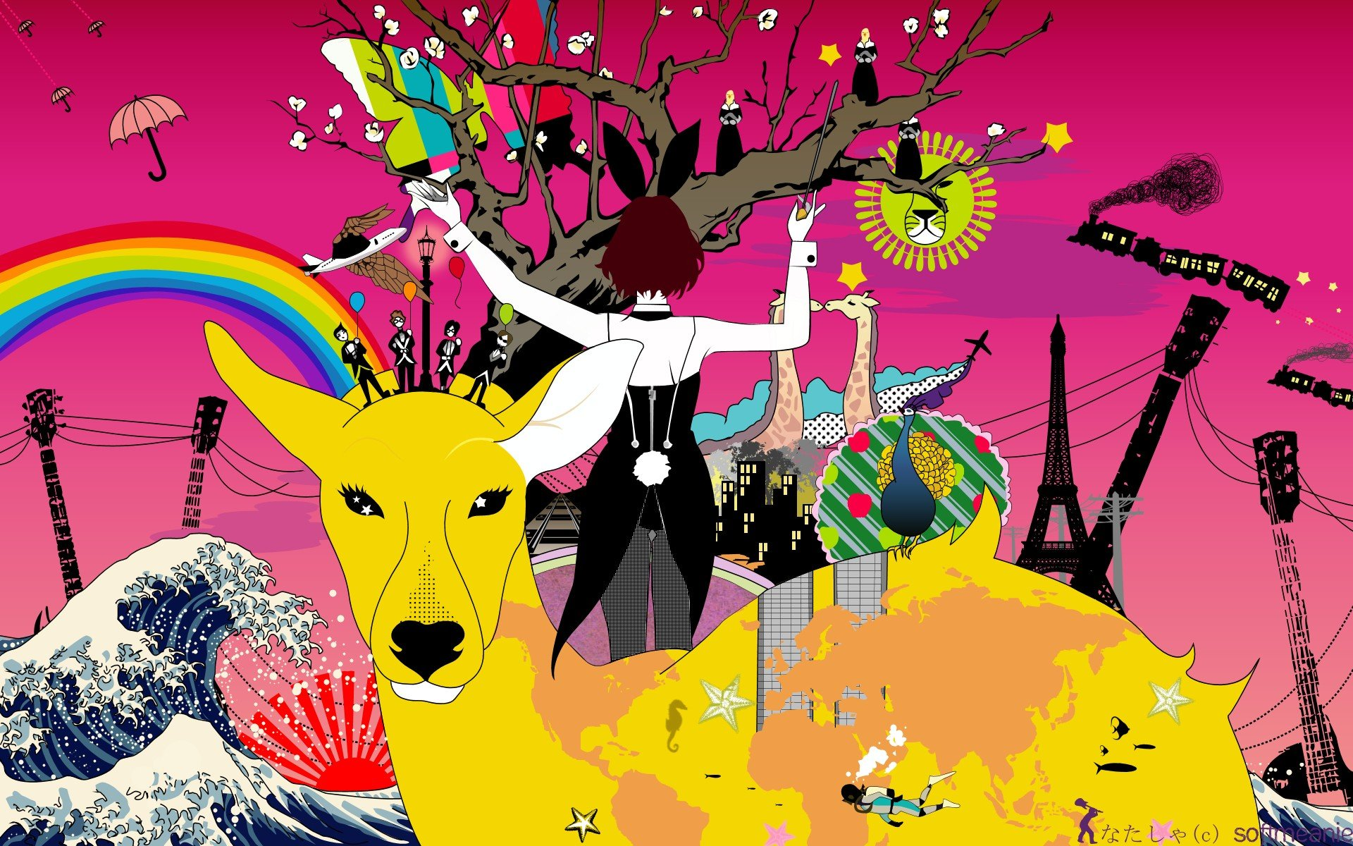 Anime Colorful Original Characters Asian Kung Fu Generation Album Covers Hd Wallpapers Desktop And Mobile Images Photos