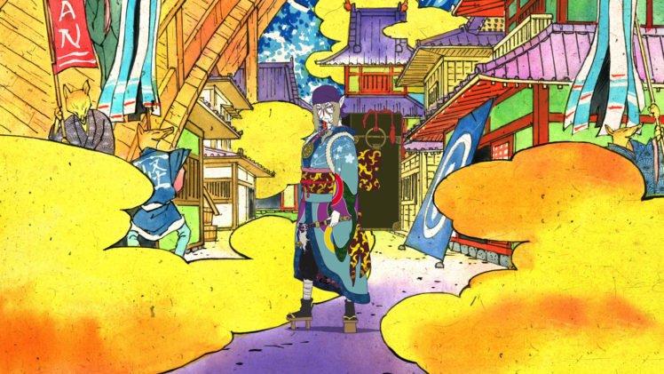 anime, Colorful, Mononoke, Kusuriuri HD Wallpaper Desktop Background