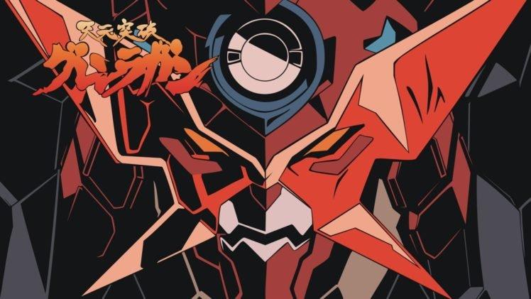 anime, Colorful, Tengen Toppa Gurren Lagann HD Wallpaper Desktop Background