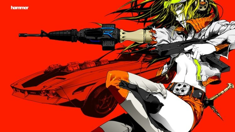 anime, Colorful, Vocaloid, Kagamine Rin HD Wallpaper Desktop Background