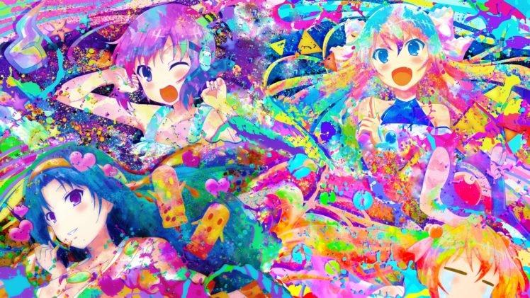 anime, Colorful, Rokujouma no Shinryakusha HD Wallpaper Desktop Background