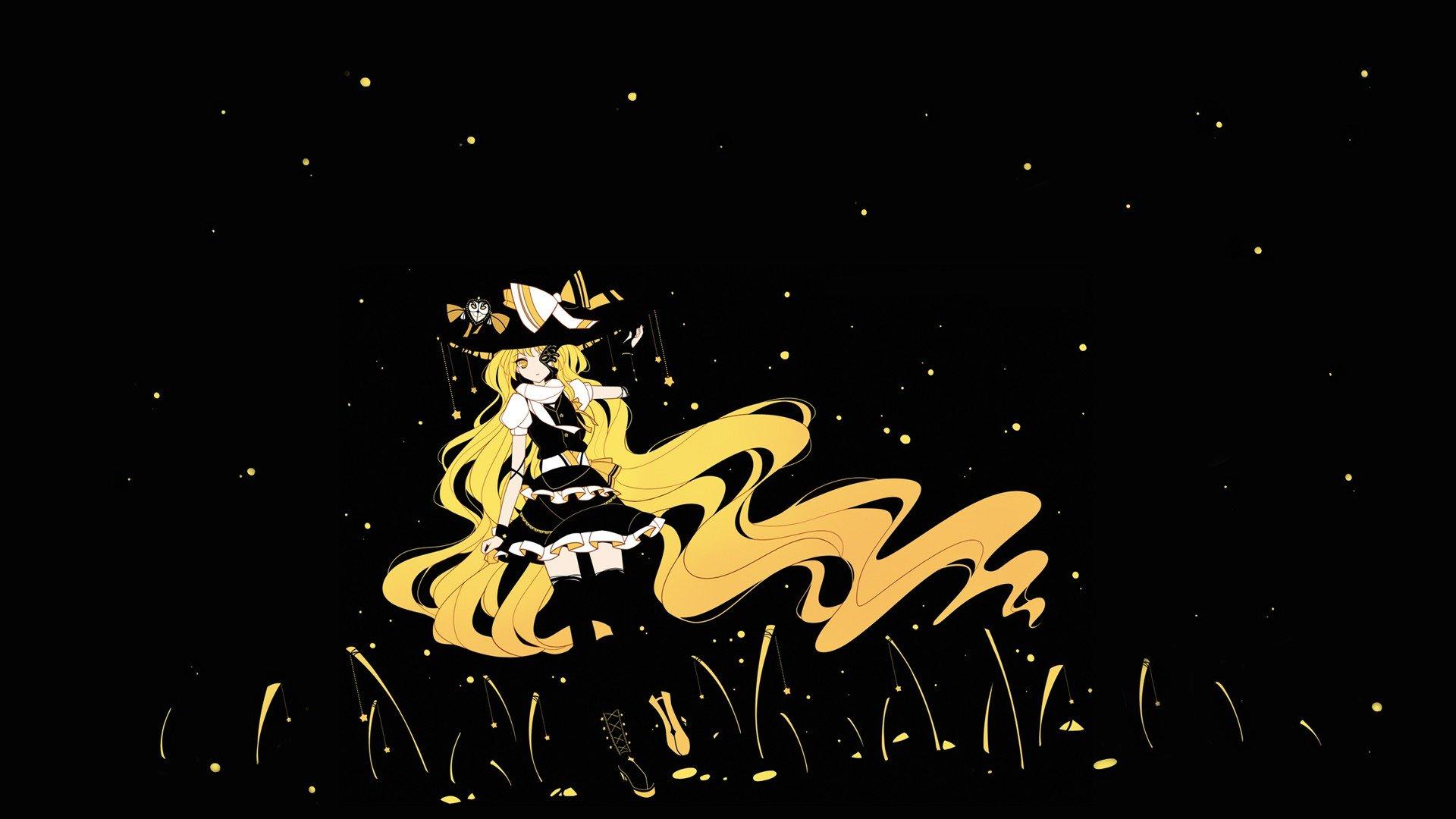 Anime Colorful Touhou Kirisame Marisa Anime Girls Hd Wallpapers Desktop And Mobile Images Photos