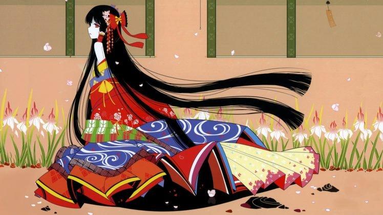 anime, Colorful, Touhou, Hakurei Reimu HD Wallpaper Desktop Background