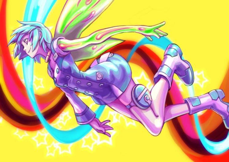 anime, Colorful, Eureka Seven, Eureka (character) HD Wallpaper Desktop Background