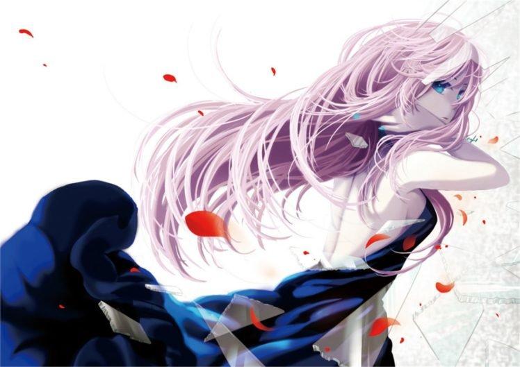 anime, Colorful, Vocaloid, Megurine Luka HD Wallpaper Desktop Background