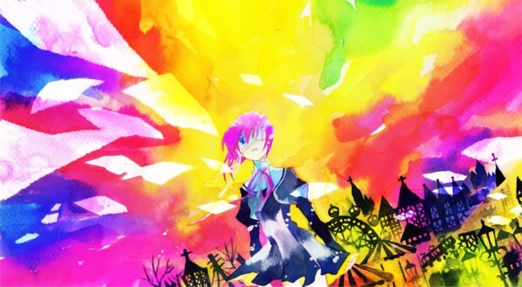 anime, Colorful, Ef   a fairy tale of the two, Shindou Chihiro HD Wallpaper Desktop Background