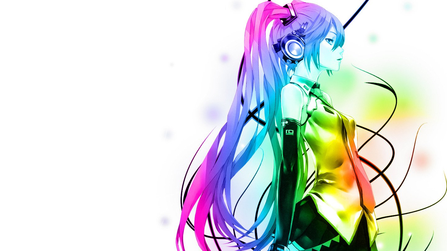 anime, Colorful, Hatsune Miku, Vocaloid HD Wallpapers ...