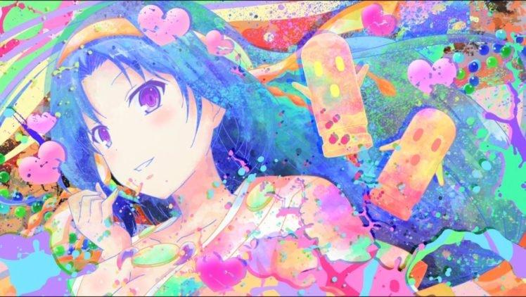 anime, Colorful, Invaders of Rokujouma, Kiriha Kurano HD Wallpaper Desktop Background