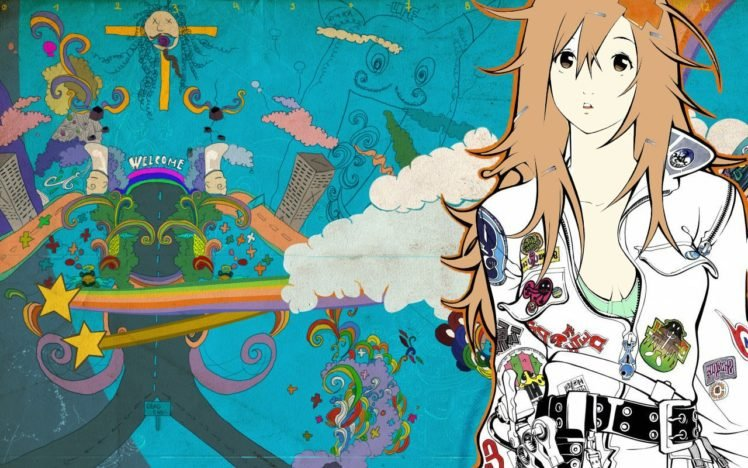 anime, Colorful, Air Gear HD Wallpaper Desktop Background