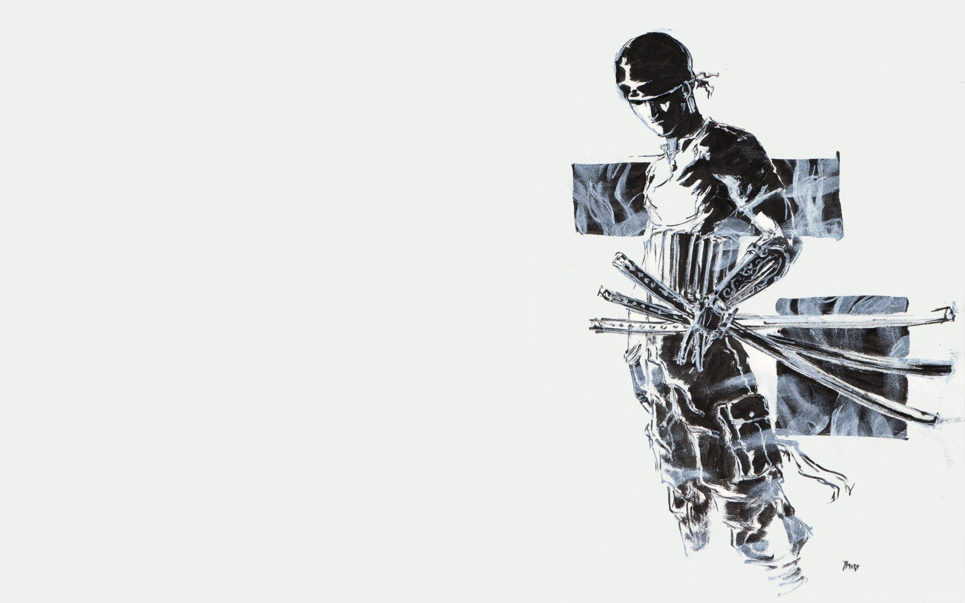 Roronoa Zoro Wallpaper Hd Black