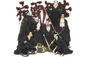 Dracule Mihawk, One Piece, Boa Hancock, Crocodile (character), Jinbei, Donquixote Doflamingo