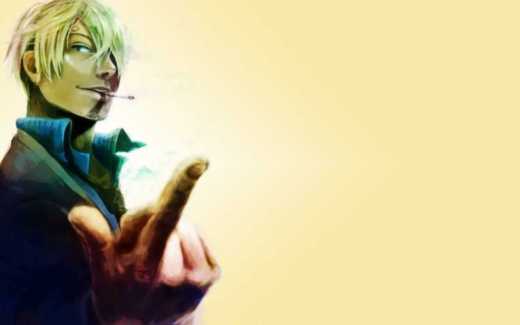 One Piece, Sanji HD Wallpaper Desktop Background