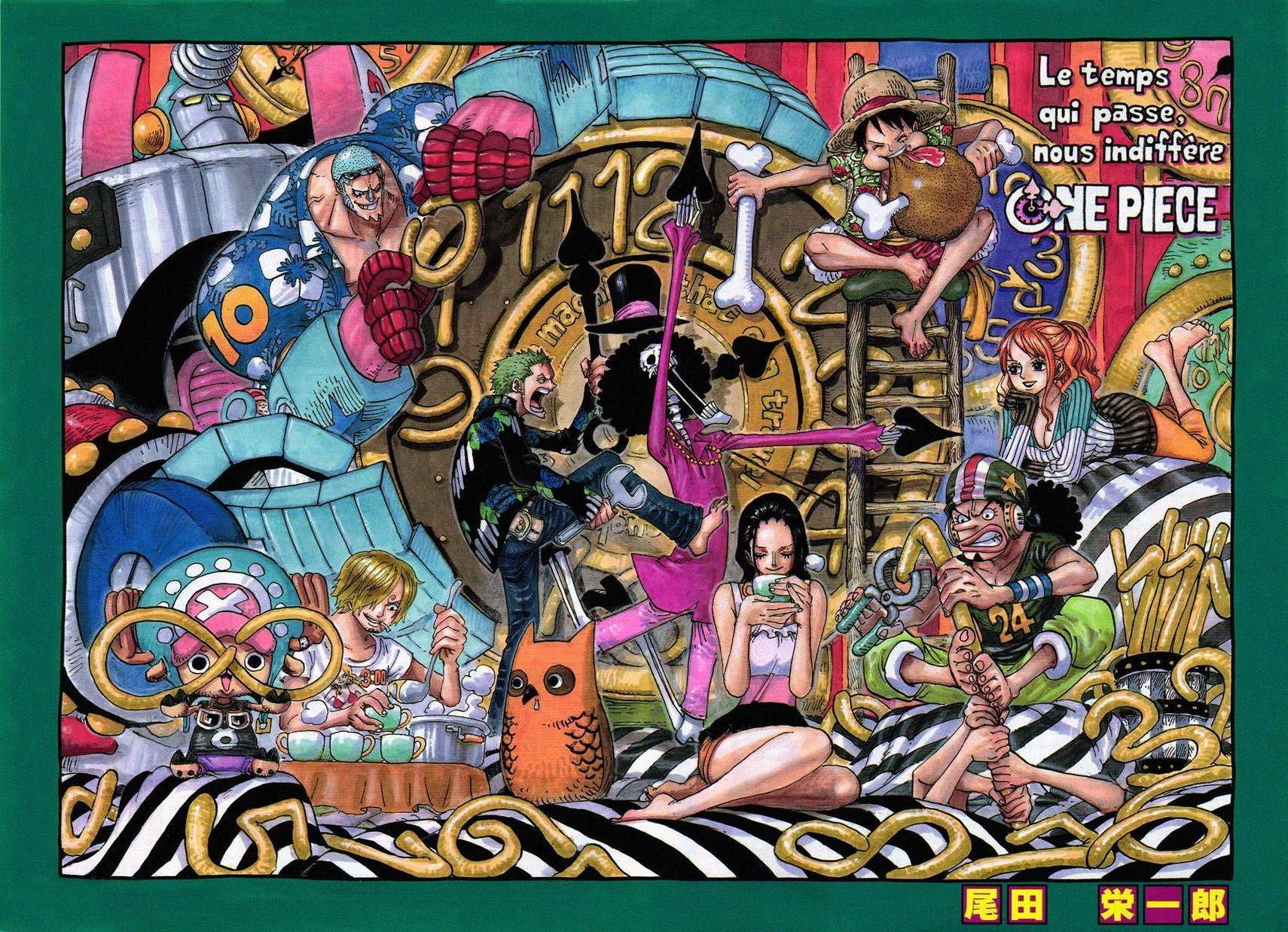 One Piece, Monkey D. Luffy, Nami, Roronoa Zoro, Usopp, Nico Robin, Sanji, Tony Tony Chopper Wallpaper