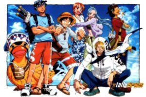 One Piece, Roronoa Zoro, Monkey D. Luffy, Nami, Sanji, Usopp