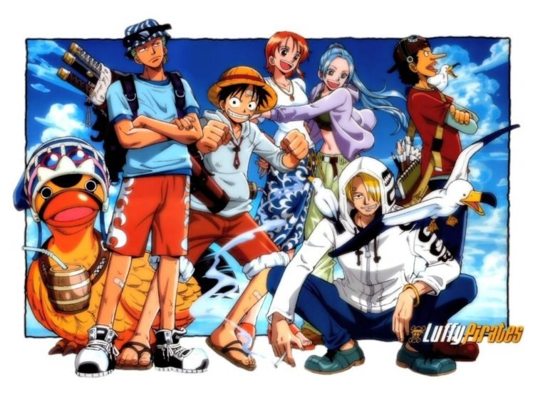 One Piece Roronoa Zoro Monkey D Luffy Nami Sanji Usopp Hd Wallpapers Desktop And Mobile Images Photos