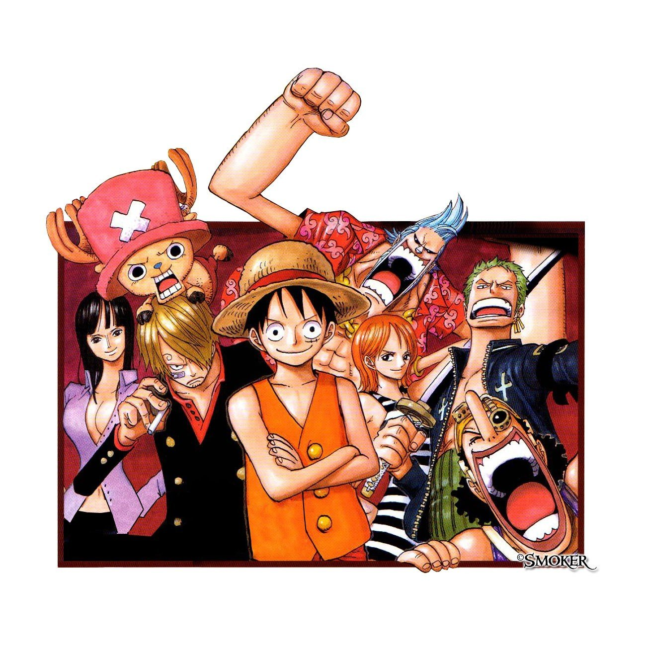 One Piece, Monkey D. Luffy, Usopp, Roronoa Zoro, Nami