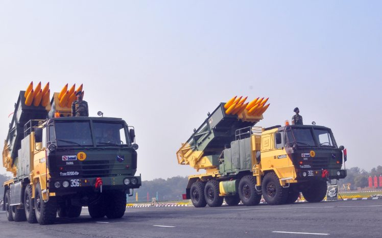 Pinaka Rocket System Indian Army Military Hd Wallpapers Desktop And Mobile Images Photos
