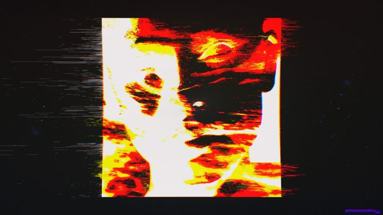 Dark Abstract Art Space