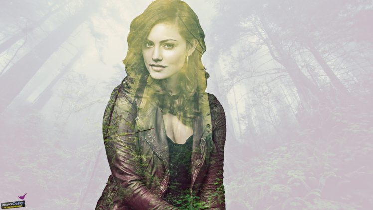 women, Brunette, People, Photo manipulation, Double exposure, Tree bark HD Wallpaper Desktop Background