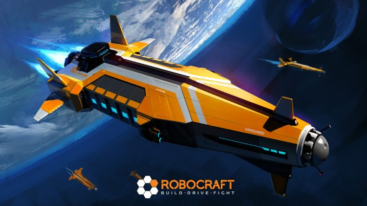 robocraft, Robot, Video games HD Wallpaper Desktop Background