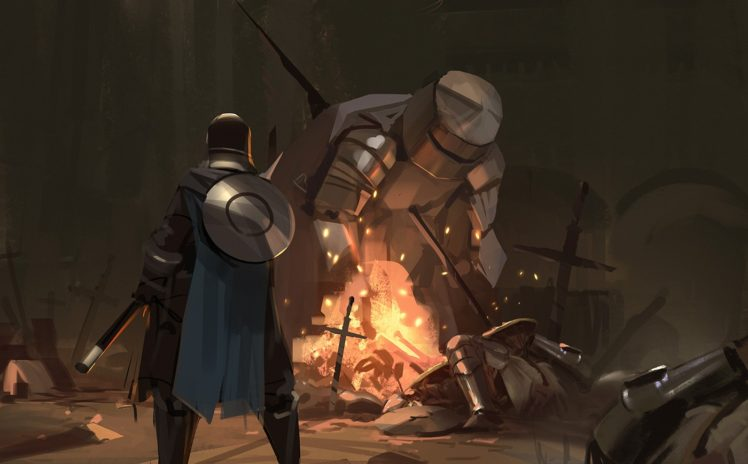 digital art, Artwork, Dark Souls III HD Wallpaper Desktop Background