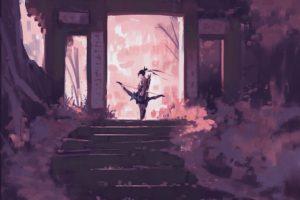 Hanzo (Overwatch), Digital art, Artwork