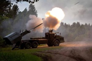 Archer Artillery System, Self Propelled Howitzer,  BAE Systems Bofors, FH77BW L52, Swedish Army