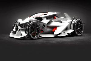 Super Car, Futuristic