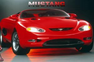 Ford Mustang, Concept cars, Supercars