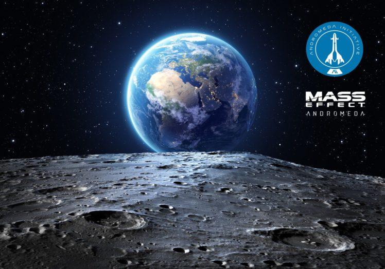 Mass Effect: Andromeda, Andromeda Initiative, Mass Effect HD Wallpaper Desktop Background