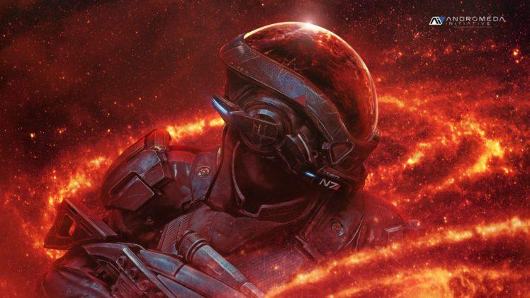 Ryder, Andromeda Initiative, Mass Effect: Andromeda HD Wallpaper Desktop Background