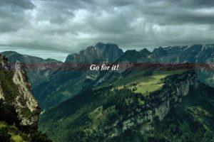 landscape, Motivational, Mountains