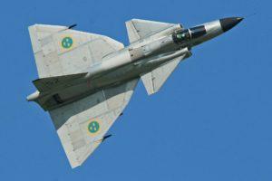 SAAB 37 Viggen, Sweden, Aircraft, AJS 37