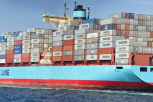 Maersk, Maersk Line, Cargo, Container ship, Dual monitors