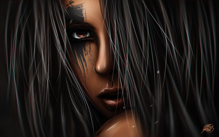 fantasy girl, Fantasy art, Artwork HD Wallpaper Desktop Background