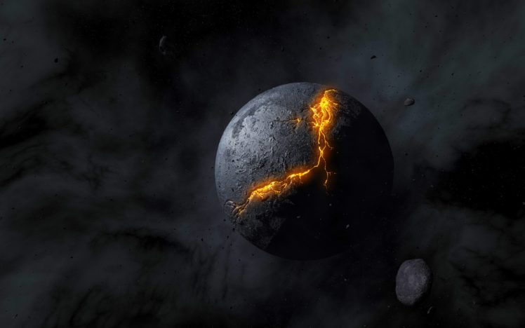 space, Artwork, Planet HD Wallpaper Desktop Background